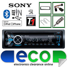 PEUGEOT 206 02-10 Sony CD mp3 USB Bluetooth Auto Stereo Volante Interfaccia