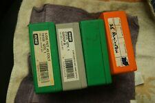 RCBS-LYMAN 4 DIE BOXES  RELOADING DIES UNUSED