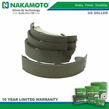 Nakamoto Rear Brake Shoe Set for Cavalier Cobalt HHR Pontiac G5 Sunfire Ion