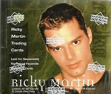 HUGE LOT 1000 Packs of Ricky Martin Trading Cards Upper Deck 1999 New Unopened