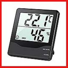Criacr Digital Hygrometer Thermometer, Room Thermometer, Monitor Temperature and