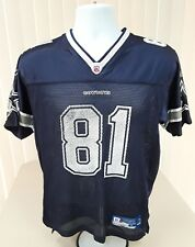 DALLAS COWBOYS T. OWENS REEBOK NFL EQUIPMENT Football Jersey Youth Large (14-16)