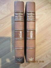 CREUZÉ de LESSER * 1800 ANS ; ANNALES SECRÈTES d'une FAMILLE * 1837 - BEL EX.