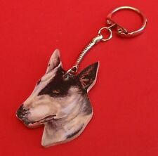 English Bull Terrier Collectable Keyring Pet Fathers Gift Dad Mum Vet Kennels
