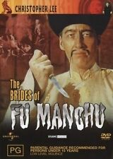 The Brides Of Fu Manchu (DVD, 2004) REGION 4 CHRISTOPHER LEE
