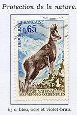 STAMP / TIMBRE FRANCE OBLITERE N° 1675 ISARD