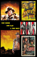 The Good The Bad /& The Ugly movie #20 poster print