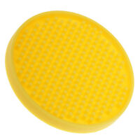 Round Drink Coasters Soft Silicone Cup Holder Mat Tableware Placemat Yellow
