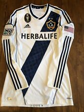 MLS Adidas Los Angeles LA Galaxy Jersey Rare Large (6) Tight Fit