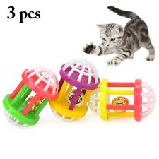 New listing 3pcs New Interactive Bell Cat Toy indoor cats kittens toys