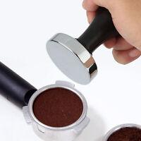 51mm/53mm/58mm Stainless Steel Coffee Press Tamper Espresso Powder Grinder