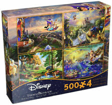 Ceaco Thomas Kinkade 4 in 1 Multi Pack Disney Puzzles