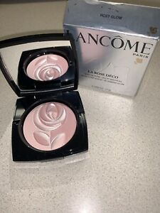 Lancome La Rose Deco Rose Complexion Blooming Glow In ROSY GLOW NEW & HTF!!