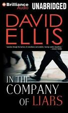 IN THE COMPANY OF LIARS unabridged audio book on MP3 CD by DAVID ELLIS  10 Hours