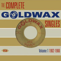 "THE COMPLETE GOLDWAX SINGLES VOLUME 1  ""1962-1966""  2 CD's  58 TRACKS"