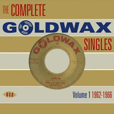 """THE COMPLETE GOLDWAX SINGLES VOLUME 1  """"1962-1966""""  2 CD's  58 TRACKS"""