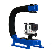 Opteka X-GRIP Stabilizer Handle for GoPro HERO6 HERO5 HERO4 HERO3 Session -Blue