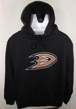 NHL Anaheim Ducks Web Logo Hoodie Sweatshirt size Small LA Times promo