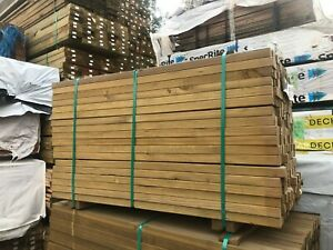 Treated Pine H3 Droppers 42x35 1.2m Fence Screening Pickets Blanks Balustrade
