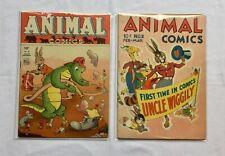 Animal Comics 2 10 GD+ 1943/1944    (329)