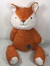 "Aurora Huggie Baby Phoebe Fox Love Me Orange Plush Stuffed Animal Floppy 16"""