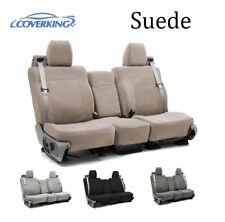 Coverking Custom Seat Covers Suede Front Row - 4 Color Options