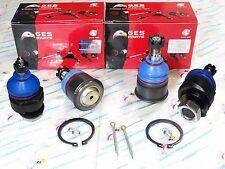 For CIVIC CRV INTEGRA 4PCS  Lower & Adjustable Upper Ball Joints K9802 K90492