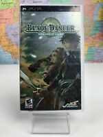 SHIPS SAME DAY Blade Dancer: Lineage of Light Sony PSP Complete CIB Rare