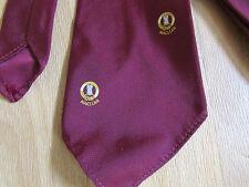 Vintage maclean logo/crest tie par Fred kelly inverness-voir photos