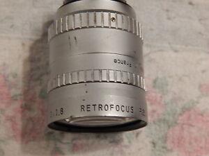 P. Angenieux 10mm f/1.8 Retrofocus R-21 c-mount lens