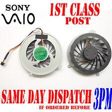 New GENUINE Sony Vaio SVE Series Laptop CPU Cooler Fan 3VHK5TMN050 3VHK5TMN010