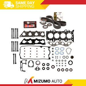 Head Gasket Set Timing Belt Kit Fit 01-05 Honda Civic VTEC 1.7 D17A1