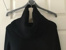 Karen Millen Black Polo Neck Knit Jumper  Paid £120   BNWOT Size 4 / UK 14-16