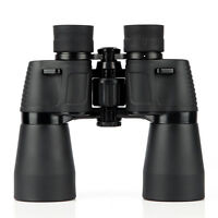 BOSMA Hunting II 10x50 Wide Angle Porro Binoculars High-Powered w/ Tripod co