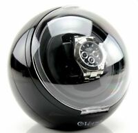 Single Black Automatic Watch Winder by Versa - Model G077