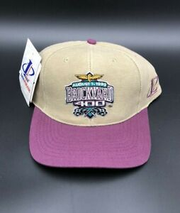 Vintage Brickyard 400 August 7, 1999 NASCAR Adjustable Racing Hat Cap New Race