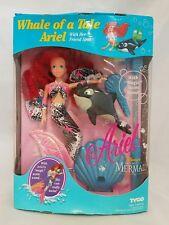 VINTAGE TYCO Little Mermaid WHALE OF A TALE ARIEL 1992 DISNEY NIB