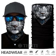 2018 UV Leopard Anima Face Shield Sun Mask Balaclava Fishing Scarf Headwear