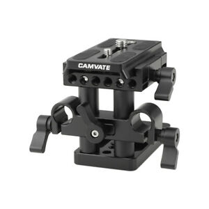 CAMVATE Quick Release Tripod Mount Baseplate for Manfrotto Standard Accessory