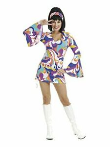 Charades Women's Disco Hottie Costume Set, Multi, Size X-Large vXtC