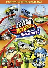 Team Hot Wheels: The Origin of Awesome [DVD] [2013]  Brand new and sealed