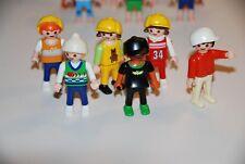 Playmobil lote niños deporte victoriano granja familia country city