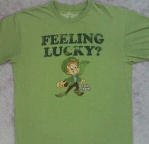 Lucky Charms Vintage Stock T Shirt_ Size Large
