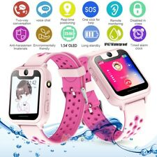 Smart Watch OLED Touch Screen GPS GSM LBS Locator Tracker SOS for Kids Children