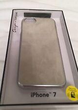 IPhone 7 Lusso color Crema in Pelle Scamosciata Stile Custodia Cover Design di tartaruga