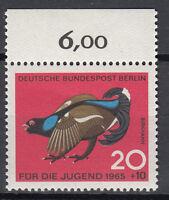 Berlin 1965 Mi. Nr. 252 Postfrisch mit Oberrand (24024)