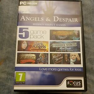Angels and Despair - 5 Game Pack (PC DVD), Windows XP,
