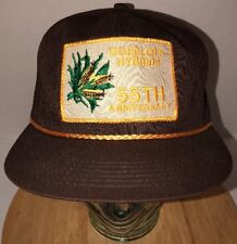 Vintage DOEBLER'S HYBRIDS 55th Anniversary 80s Hat Cap Snapback K-Products USA