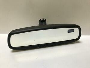 2008 Infiniti G37 Coupe Interior Rear View Mirror Automatic Dimming & Compass