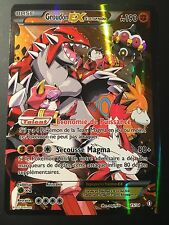 Carte Pokemon GROUDON 15/34 Holo EX FULL ART Team Magma Française NEUF